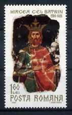 Briefmarke Rumänien 1968 ** postfrisch 2683 550 Todestag Mirceas des Alten BR042