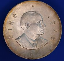 More details for 1966 ireland eire pearse easter uprising 10 shilling silver 800 coin [22206]