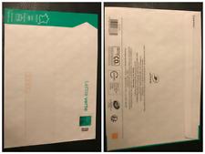 10x enveloppes Prêt à poster Lettre verte 50g