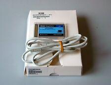 3COM Megahertz 10/100 LAN CardBus PC Card mit Xjack Connector 3CXFE575CT, NEU