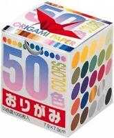 Toyo Thousand Paper Cranes Origami 7cm 50 Colors 1 000 Sheets 4902031269394