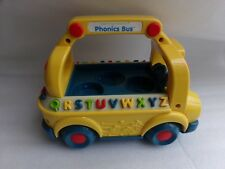 Leap Frog Learning Friends Phonics Bus School BUS ABCs Alphabet Toy Only