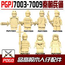 MOC Qin Dynasty Terracotta Warriors Building Blocks Bricks Models Brick Toys