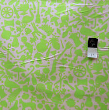 Kaffe Fassett GP119 Folk Art Lime Cotton Fabric By Yd