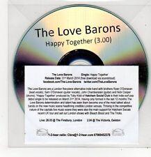 (FF405) The Love Barons, Happy Together - 2014 DJ CD