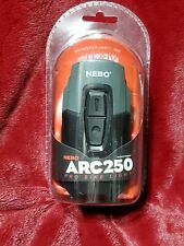 New Nebo Arc250 Bike Light Led Spot Light High, Low, Night/Day Flash Bike Safety