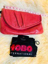 NWT Hobo International, sample clutch purse, very rare, Red