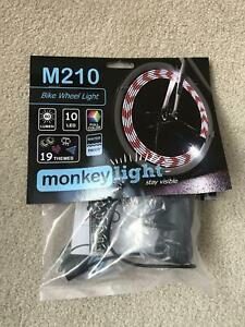 Monkey Light M210 - 80 Lumen - Bike Wheel Light -10 Full color LED -Waterproof
