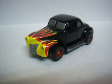 TYCO NEW 1940 Ford Deluxe Flaming Hot Rod for HO race set AFX Aurora