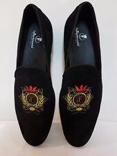 NEUF taille 44 RE Ferdinando Vero Cuoio Chaussures Hommes Italien Daim Chaussure