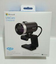 Microsoft LifeCam Cinema HD 1393 - Windows 10 720P USB Video Webcam - Boxed