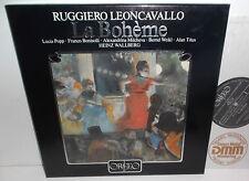 S023823F Leoncavallo La Boheme Lucia Popp Franco Bonisolli / Heinz Wallberg 3LP