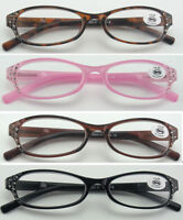 L31 Super Fashion Reading Glasses & 14pcs Diamante & Spring Hinges & Super Value