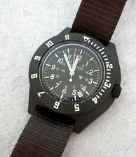 Marathon Navigator with date watch brown military rescue 6645-01-544-9475