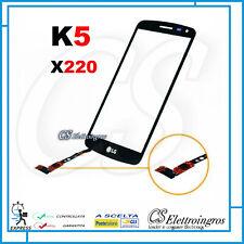 LG K5 X220 Ricambio Vetro Touch Screen + Biadesivo