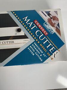 Logan Compact Mat Cutter Art Picture Framing 301-S Bevel Mat cutter