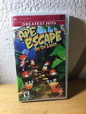 SONY PSP PORTABLE PLAYSTATION juego Ape Escape on the loose