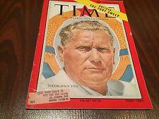 Time Magazine June 6,1955 Yugoslavia's Josip Broz Tito GREAT ADS