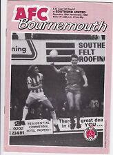 Bournemouth v Southend United  1982 / 83 FA Cup 1st Round - November 20th
