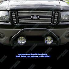 Fits 01-06 Ford Explorer Sport Trac Main Upper Billet Grille Insert