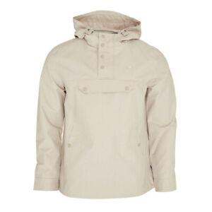 Mens Merc London Shield Retro Hooded Pullover Terrace Jacket