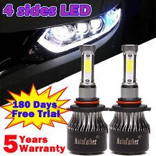 9005 HB3 H10 LED 260W 26000LM Headlight Kit Bulbs Conversion Cree White 6000K