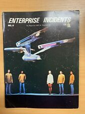 "RARE APR 1980 STAR TREK ""ENTERPRISE INCIDENTS"" #8 USA MAGAZINE"