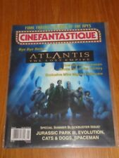 CINEFANTASTIQUE VOLUME 33 #4 AUGUST 2001 ATLANTIS LOST EMPIRE US MAGAZINE =