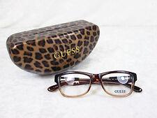 Auténtico Guess GU 2513 005 Negro Plástico De Leopardo Rosa