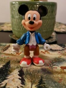 "VINTAGE ARCO WALT DISNEY MICKEY MOUSE PVC ACTION FIGURE TOY 5"" TALL"