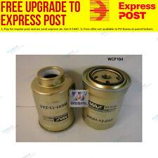Wesfil Fuel Filter WCF104 fits Ford Ranger PJ 2.5 TDdi 4x4,PJ 2.5 TDdi,PJ 3.0
