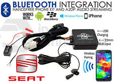 SEAT Leon musica in streaming Bluetooth Auto Vivavoce Aux in 2005 - 2011 ctastbt 002