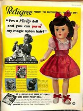 Original Vintage Pedigree Doll Advertisement from Picture Post Mag April 1952