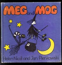 Vintage Childrens Book Meg and Mog Helen Nicoll Jan Pienkowski 1st American Ed