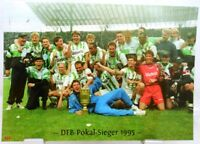 Borussia Mönchengladbach + DFB Pokal Sieger 1995 + Fan Big Card Edition F140 +