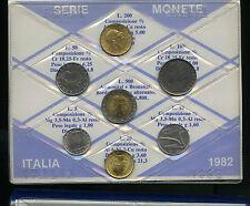 1982 - Serie annuale Italia in confezione della zecca