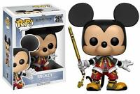 "DISNEY KINGDOM HEARTS MICKEY 3.75"" POP VINYL FIGURE FUNKO 261 UK SELLER"
