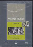 Dvd «A TEATRO CON PIRANDELLO ~ ENRICO IV» di C.Fino con Salvo Randone nuovo 1967
