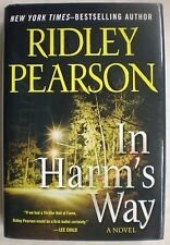 IN HARM'S WAY Ridley Pearson 1st Edition 2010 Mystery Hardcover & Dust Jacket