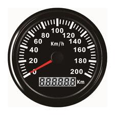 IP67 200KM/H Auto Motor GPS Digital Tachometer Tacho Kilometerzähler Motorrad DE