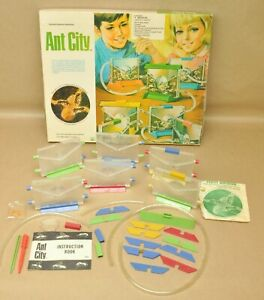 Vtg Natural Science Industries Ant City Ant Farm Science Insect Kit Bug Habitat