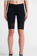 Women's NIKE Motion Training / Running Shorts - Black - Size Xs Rrp£59
