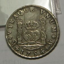 1754 MM Imperial Crown 8 Reales:   Mexico City Mint