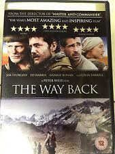 Colin Farrell Ed Harris Mark Strong THE WAY BACK ~ 2010 Gulag Escape Drama DVD