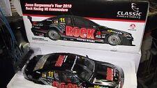 CLASSIC 1/18 2010 HOLDEN COMMODORE JASON BARGWANNA #11  V8 SUPERCAR ROCK 18437