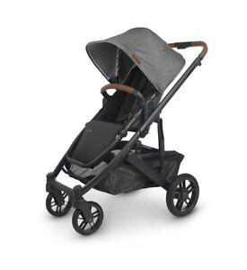 Uppababy Cruz V2 Stroller, Greyson Charcoal Melange - NEW/Manf. May 2021