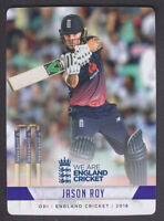 Tap N Play - England Cricket 2018 - Base # 73 Jason Roy - Surrey