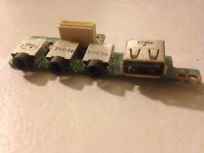 Alienware Area 51 M17x Gaming Laptop Headphone Jack USB Board