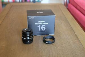 Fujifilm XF Fujinon R WR 16mm F/2.8 - Like new