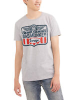 Gas Monkey Garage  men's sizes Gas Monkey t shirt  S-3XL fast n' loud Grey logo